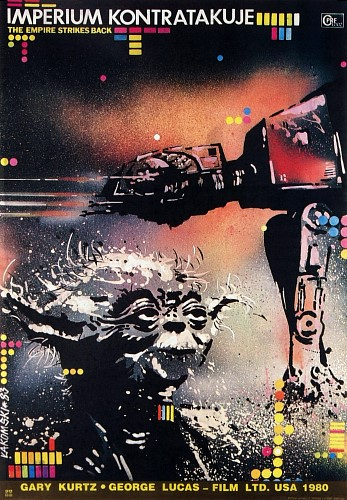 Polish version of Empire strikes back poster